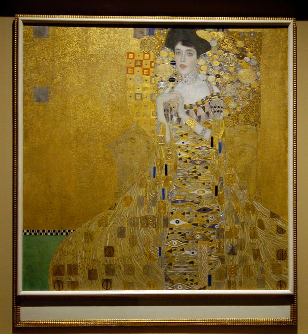 The Woman In Gold - Klimt's famous painting