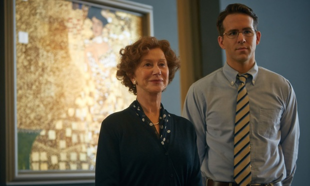 Helen Mirren and Ryan Reynolds in, The Woman in Gold