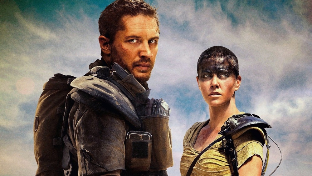 Tom Hardy and Charlize Theron in, Mad Max:Fury Road