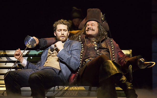 Matthew Morrison and Kelsey Grammar in, Finding Neverland