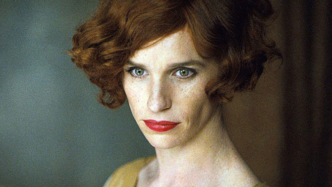 Eddie Redmayne in, The Danish Girl
