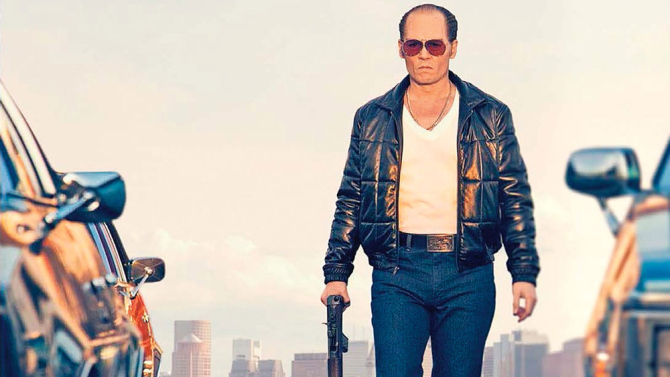 Johnny Depp in, Black Mass