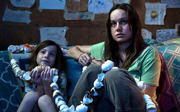 Brie Larson and Jacob Tremblay in, Room