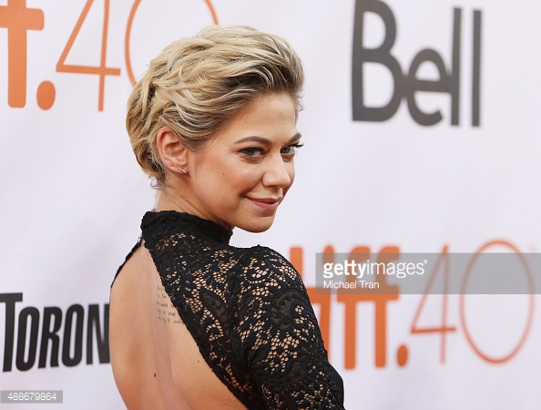 Analeigh Tipton at TIFF15     Getty images: MIchael Tran