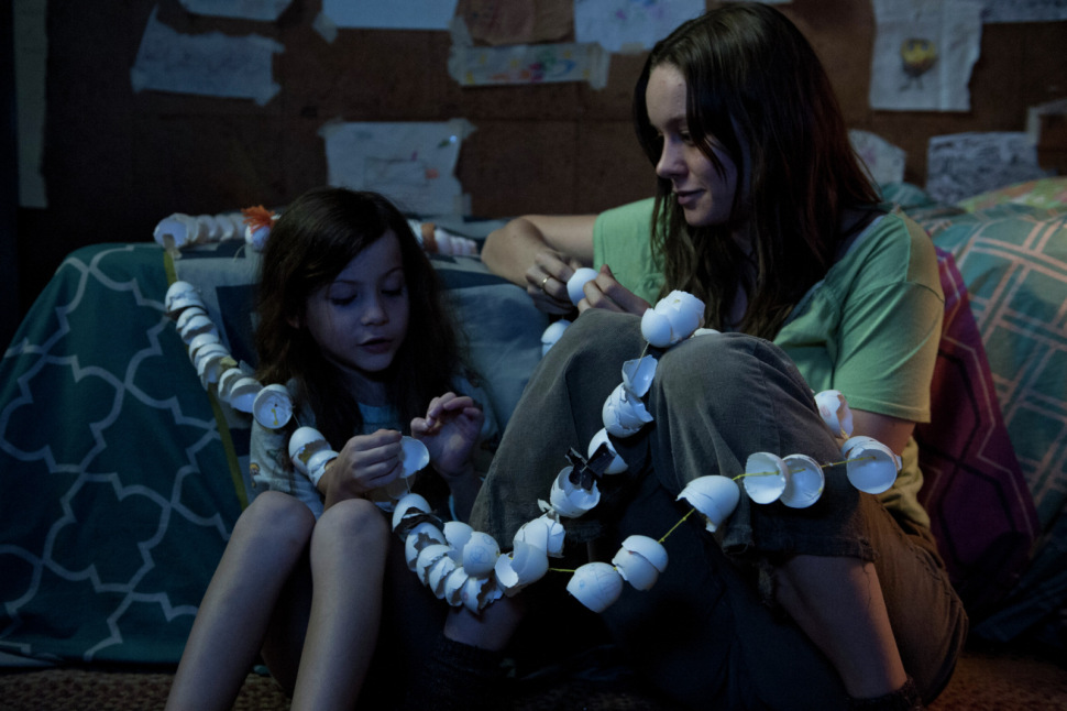 Jacob Tremblay and Brie Larson in, Room