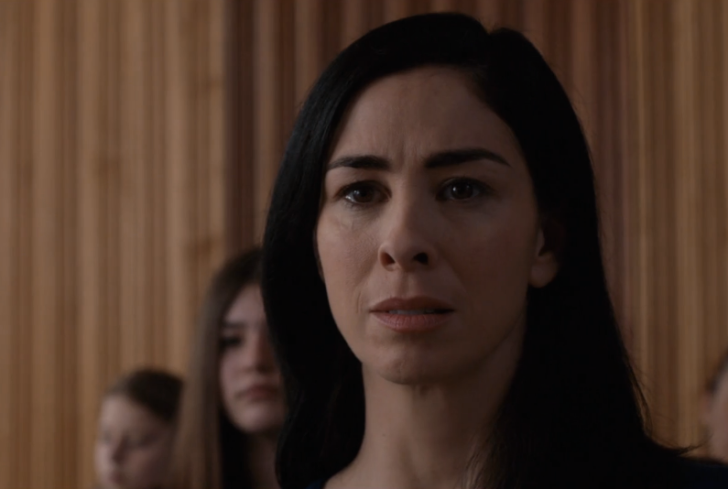 Sarah Silverman in, I Smile Back