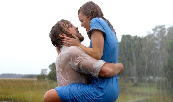 Ryan and Rachel McAdams in, The Notebook