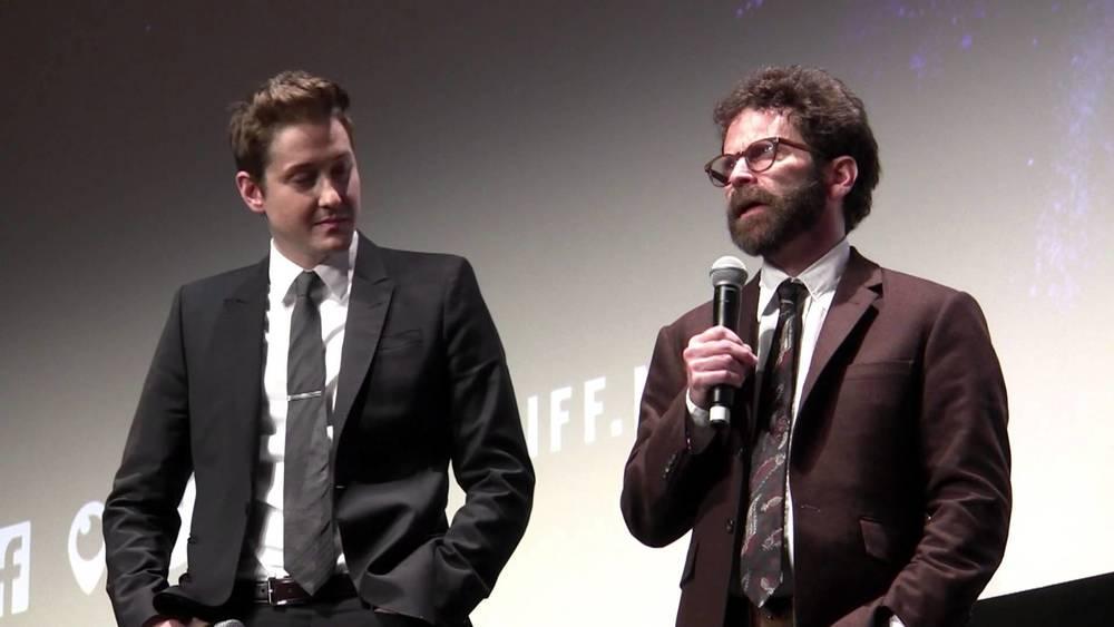Duke Johnson and Charlie Kaufman at the Toronto International Film Festival