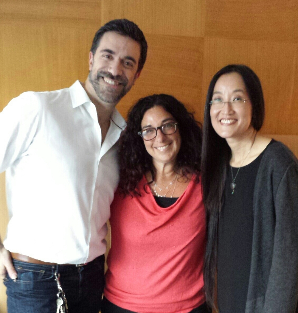 Hanging with Alessandro Carloni and Jennifer Yuh Nelson