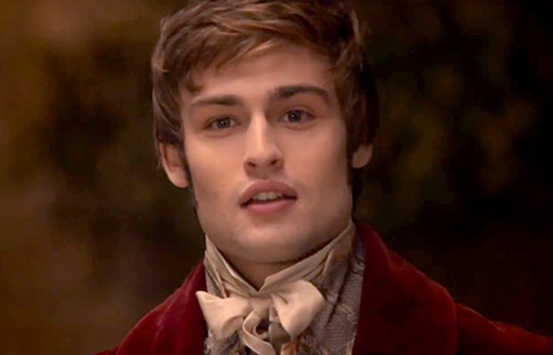 Douglas Booth as Mr. Bingley