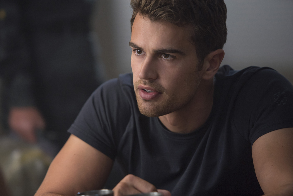 Theo James in, Allegiant