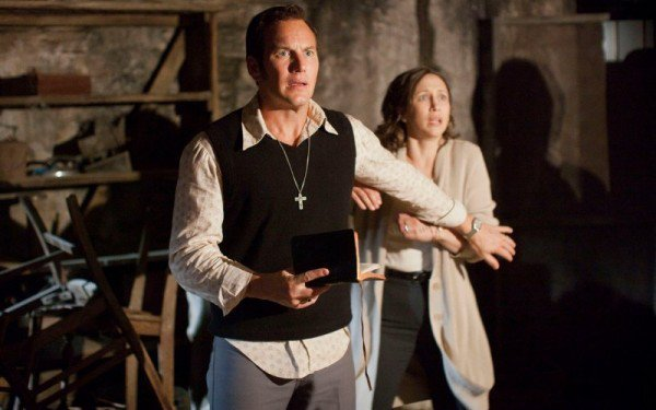 Patrick Wilson and Vera Farmiga as Ed and Lorraine Warren in, The Conjuring 2