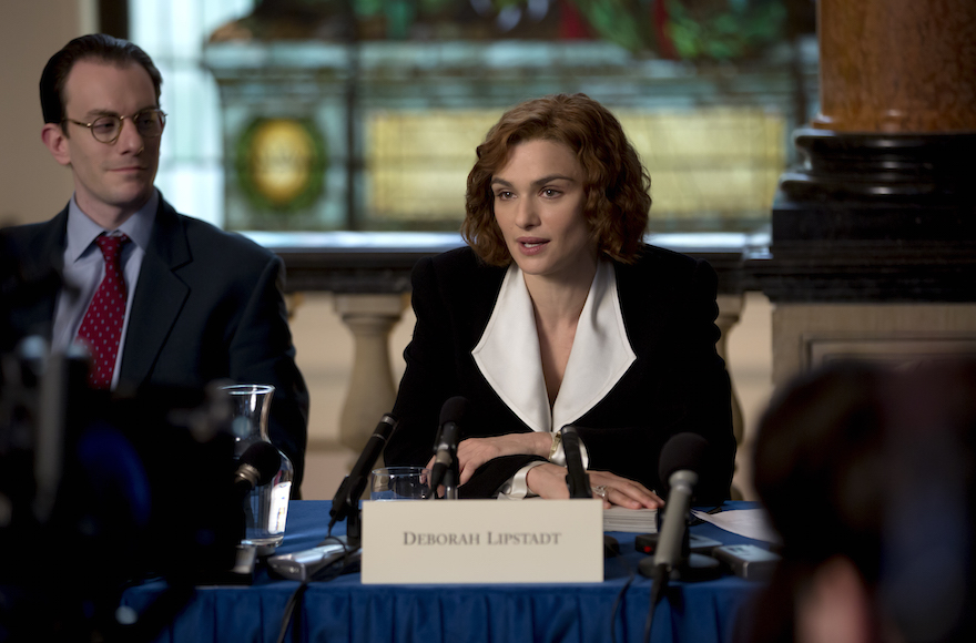 Rachel Weisz as Deborah Lipstadt in, Denial