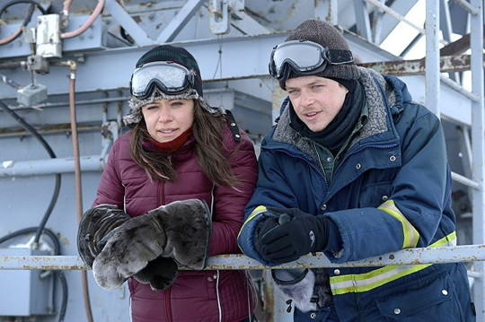 Tatiana Maslany and Dane DeHaan in, Two Lovers and A Bear