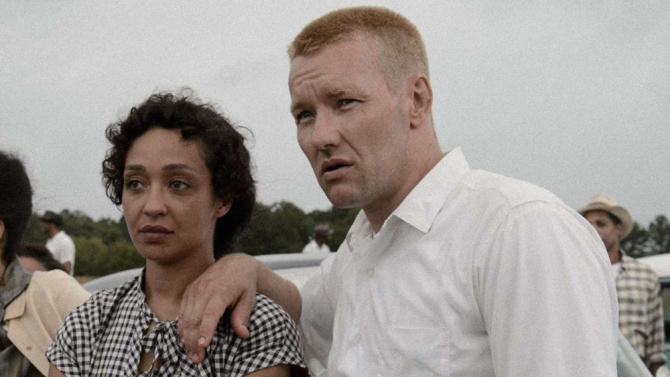 Ruth Negga and Joel Edgerton in, Loving