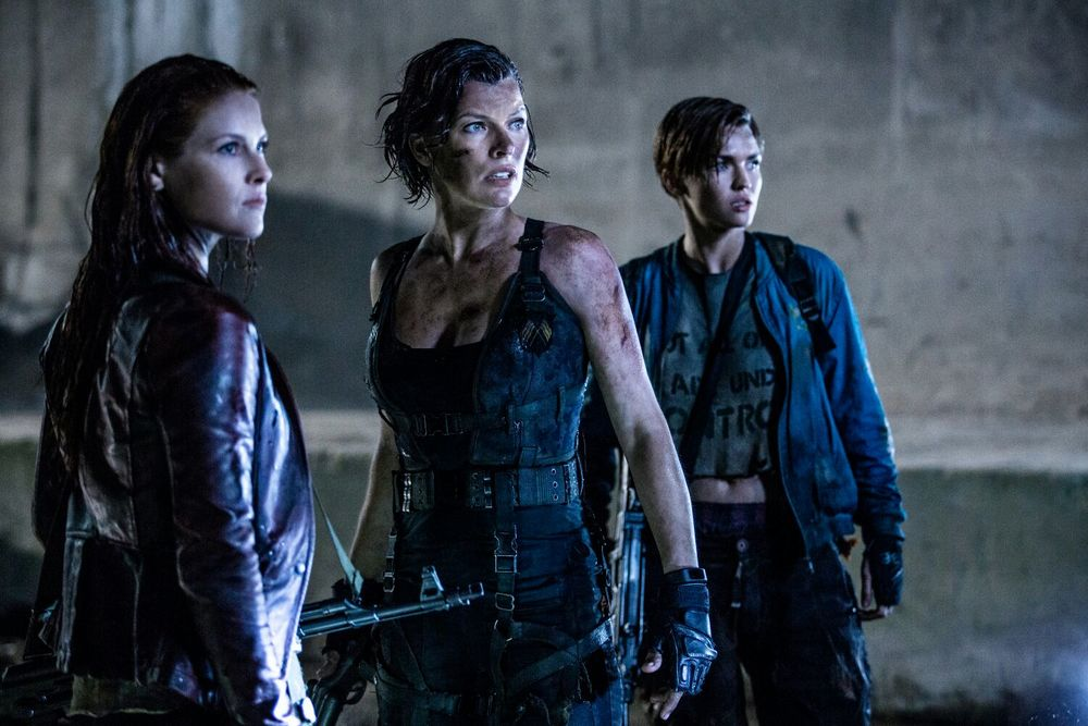 Ali Larter, Milla Jovovich and Ruby Rose