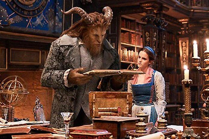 Dan Stevens and Emma Watson in, Beauty and the Beast