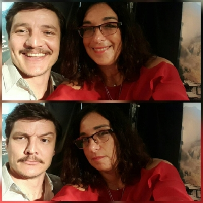 goofing around with pedro pascal, game of thrones, narcos and the great wall