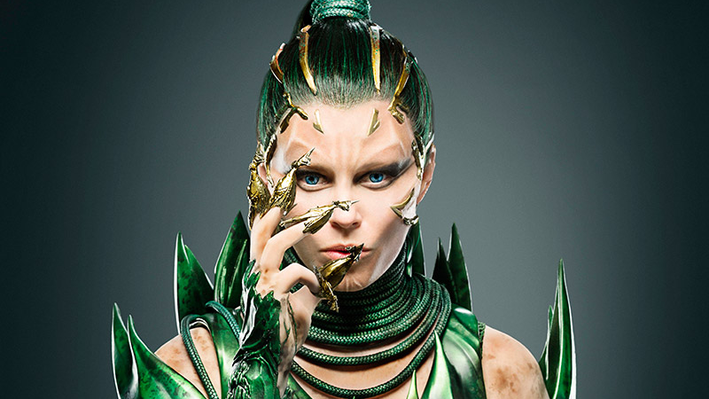 Elizabeth Banks as Rita Repulsa in, The Power Rangers