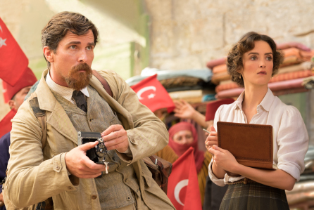 Christian Bale and Charlotte Le Bon in, The Promise