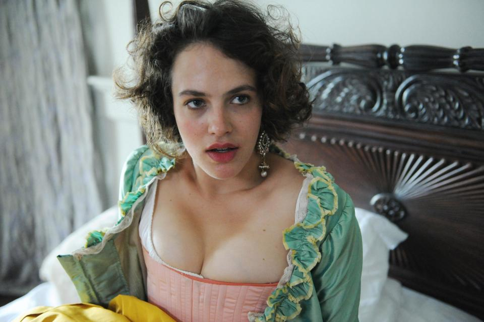 Jessica Brown Findlay says her role as prostitute Charlotte Wells in the new drama Harlots has never been more 'relevant'.