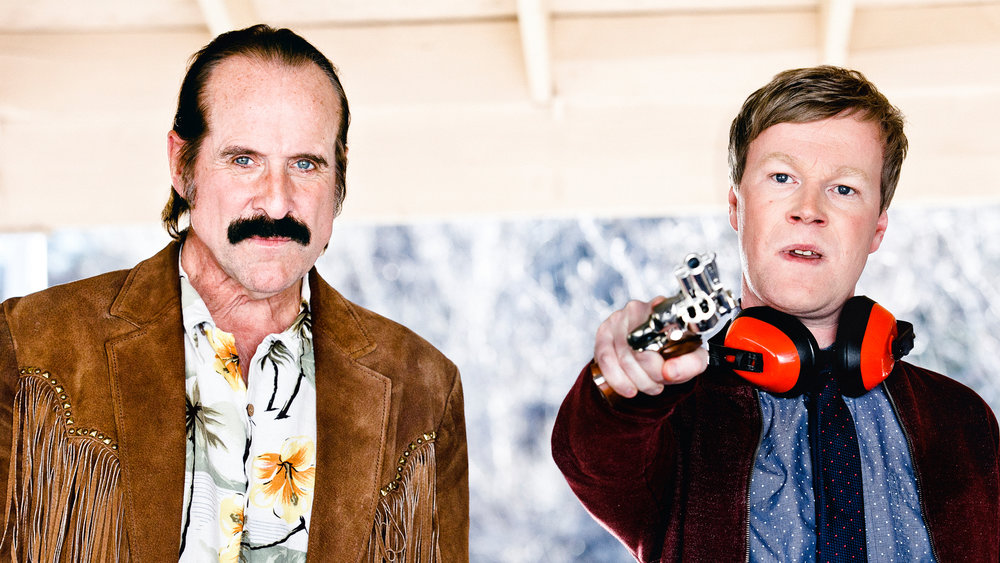 'Swedish Dicks' stars Peter Stormare and Johan Glans.