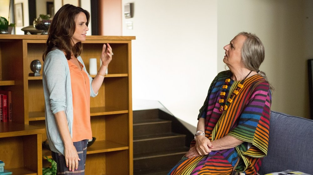 Amy Landecker and Jeffrey Tambor in Transparent