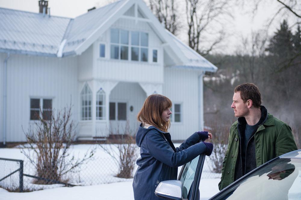 Michael Fassbender and Rebecca Ferguson star in, The Snowman