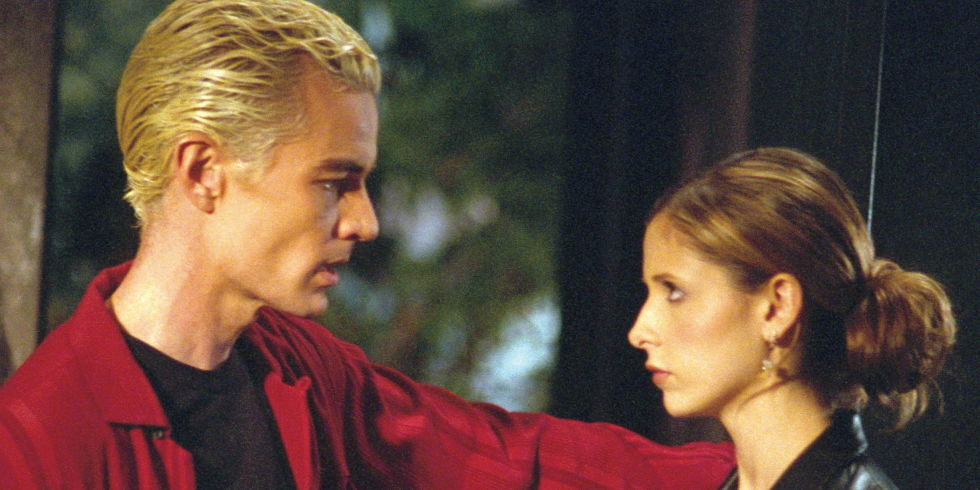 James Marsters opposite Sarah Michelle Geller in, Buffy The Vampire Slayer. The show recently celebrated it's 20th Anniversary.