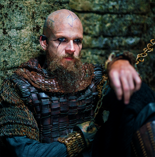 "Gustaf Skarsgard as ""Floki"" in VIKINGS"