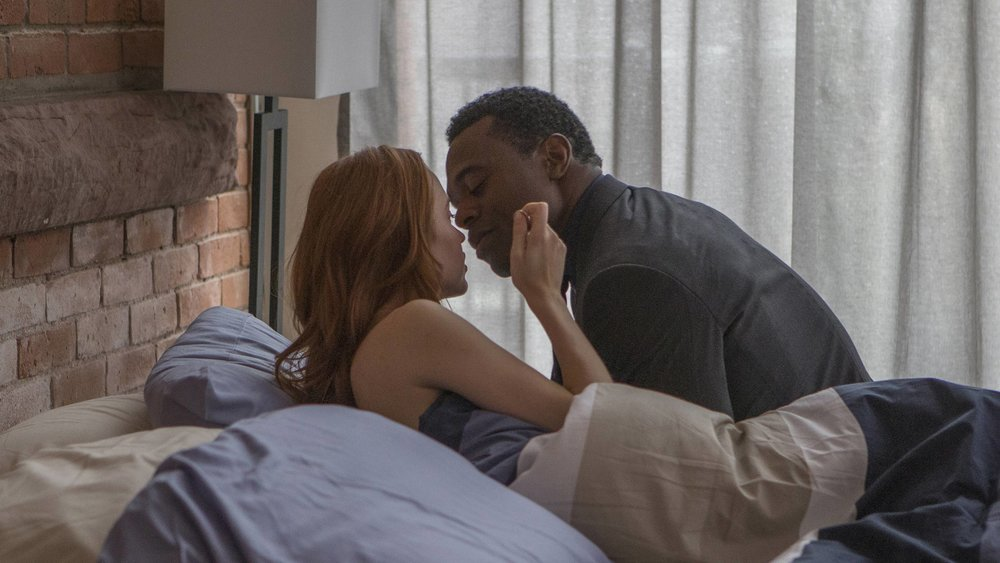 Elyse Levesque & Lyriq Bent in, Shoot The Messenger