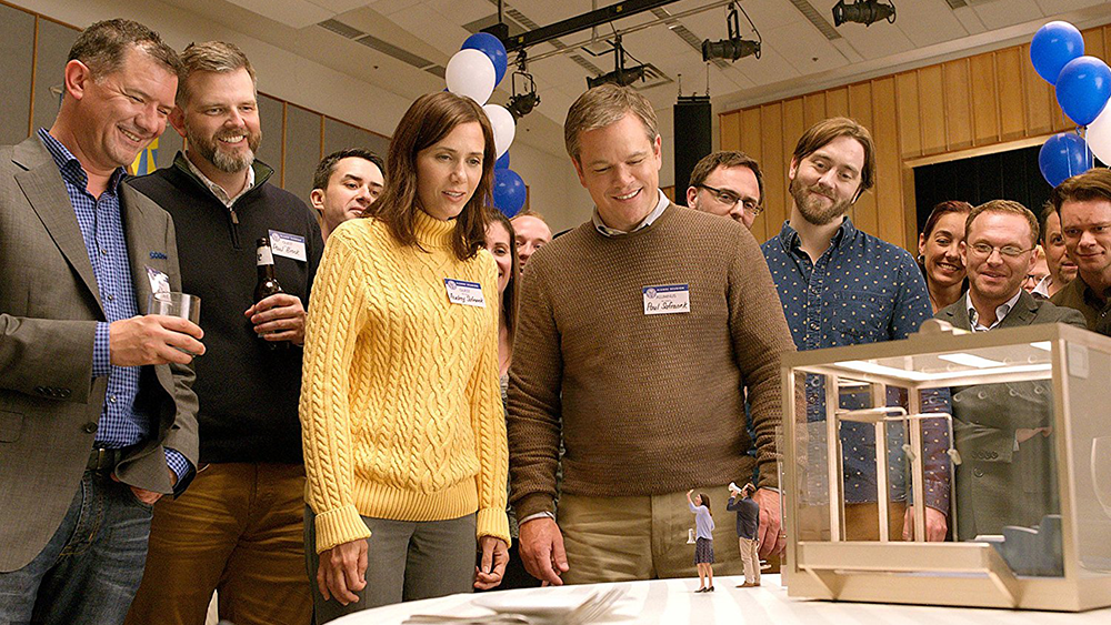 Matt Damon and Kristin Wiig star in, Downsizing