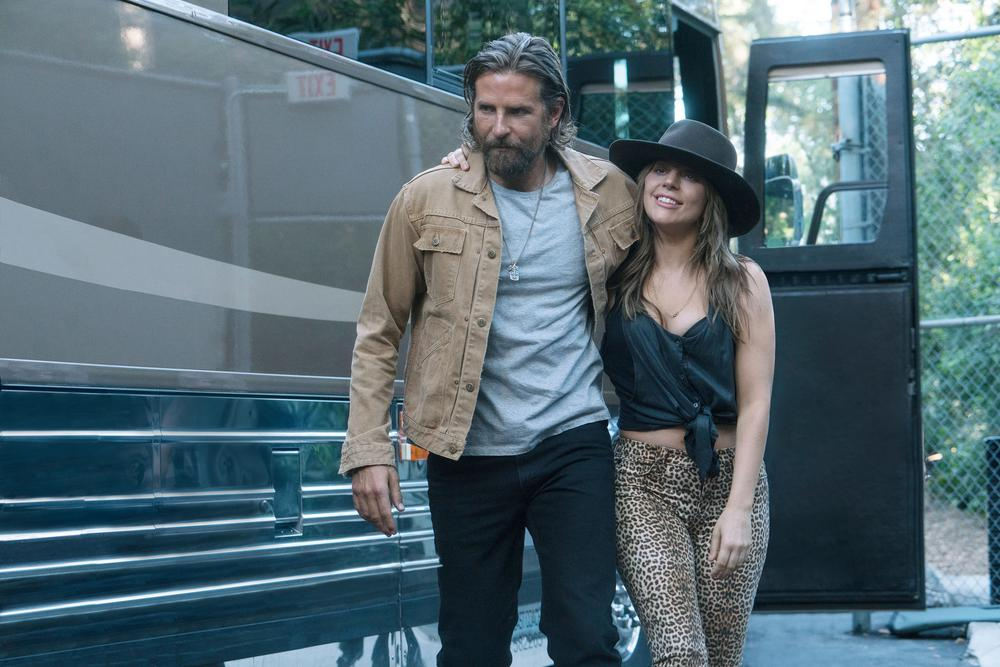 Bradley Cooper and Lady Gaga in, A Star Is Born