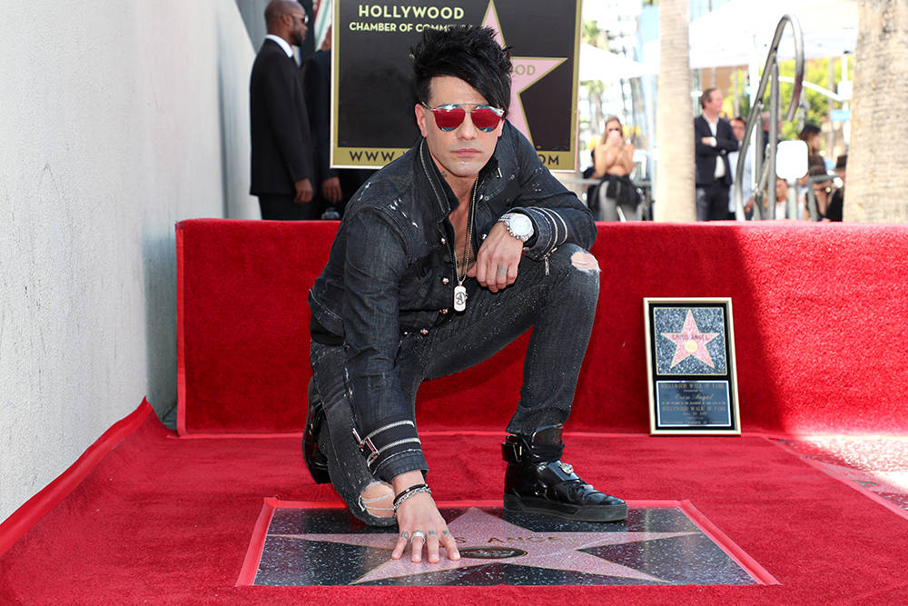 Criss Angel gets a star on the Hollywood Walk of Fame