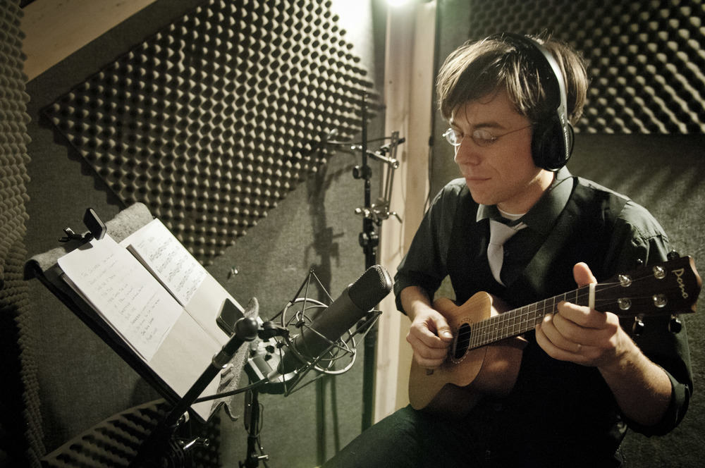 Introducing...The Paul Hemmings Uketet  Recording Session  – May 2011