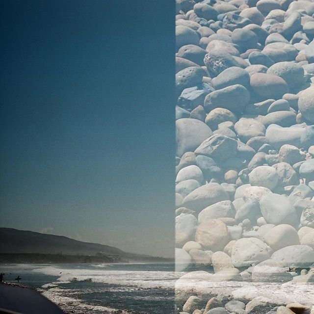 #lowers #trestles #beach #doubleexposure  #35mm #film #surf #waves