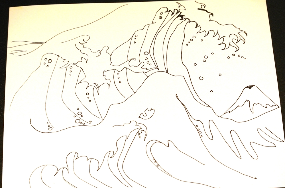 5 minute study of The Great Wave