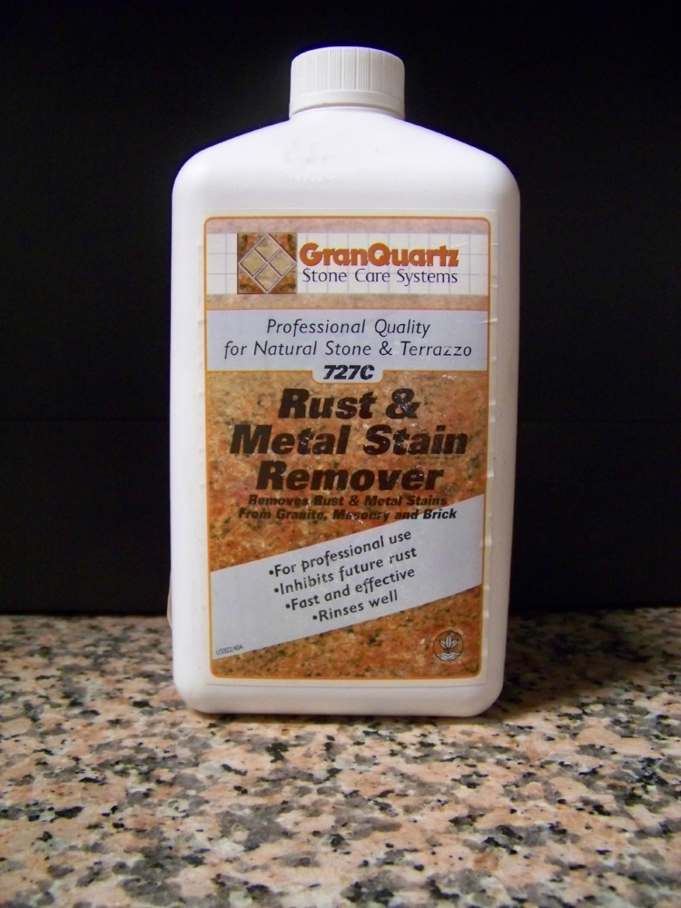 RUST & METAL STAIN REMOVER