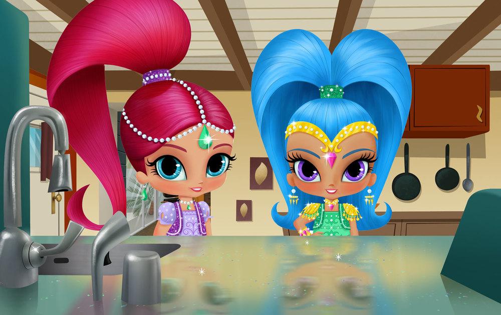 Developmentwork for Nickelodeon's Shimmy & Shine
