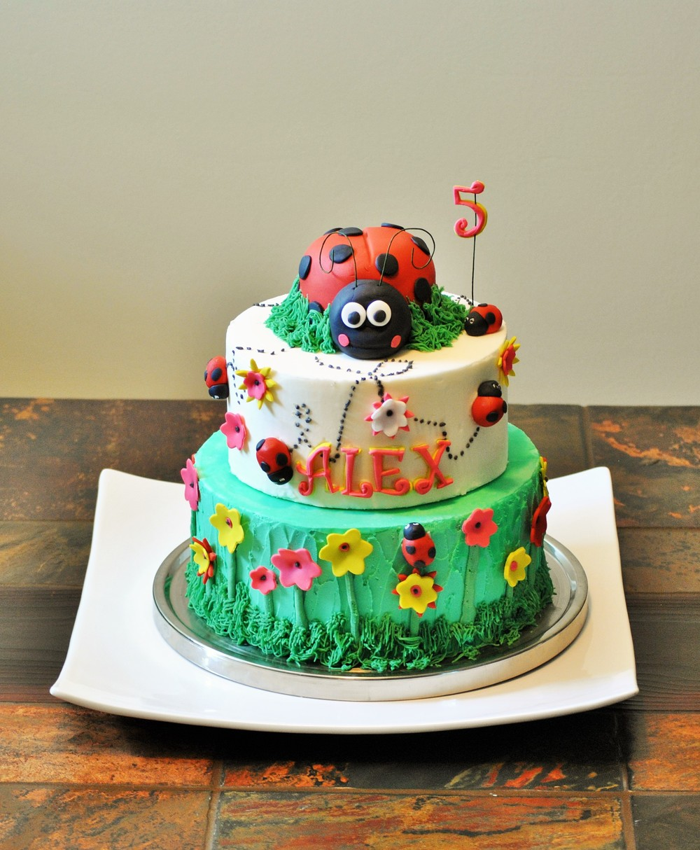 Ladybug Birthday Cake Richmond, VAVA