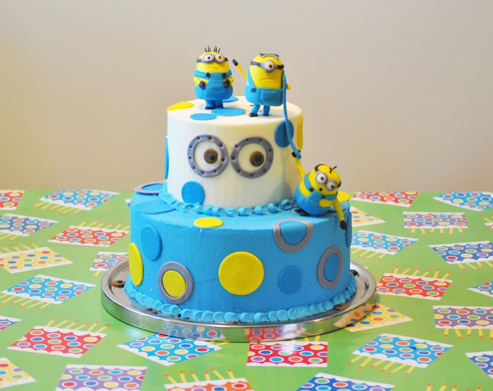 Minion- Despicable Me Cake Richmond, VA