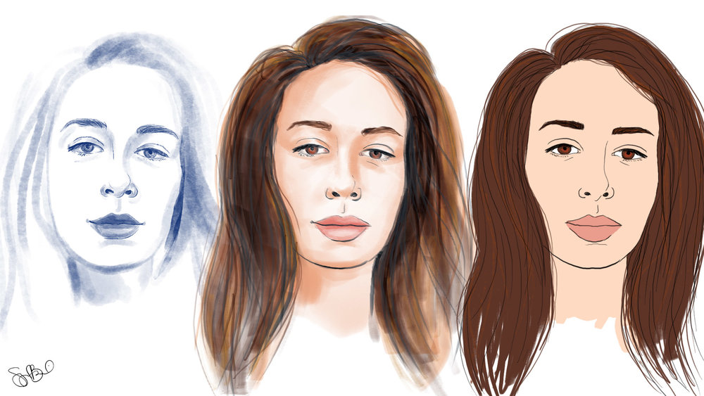 Julia Illustration Styles_Options.jpg