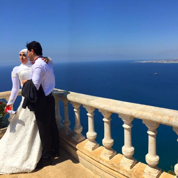 Wedding photos on The Med