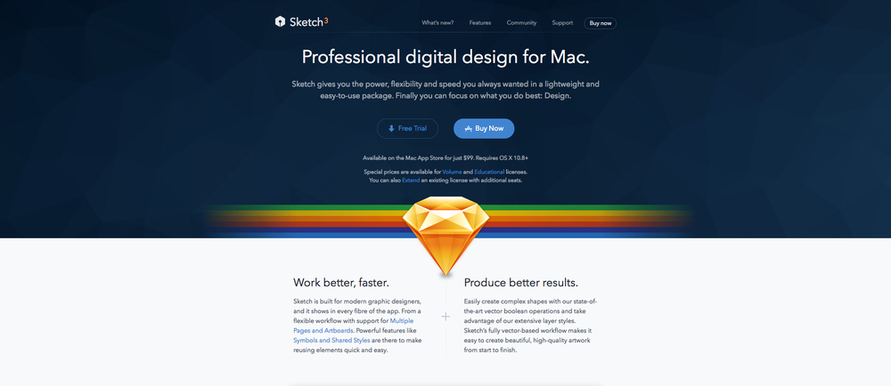 Sketch is an emerging tool for Design as a replacement for photoshop & illustrator. I strongly recommend you to try this. Once you start working with Sketch 3, there is no way back to photoshop or illustrator.
