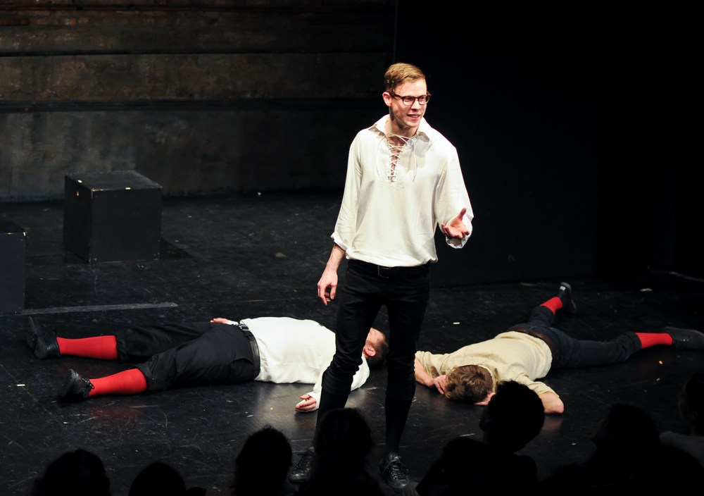 Picture of Improvised Shakespeare. Photo Credit Ari Scott