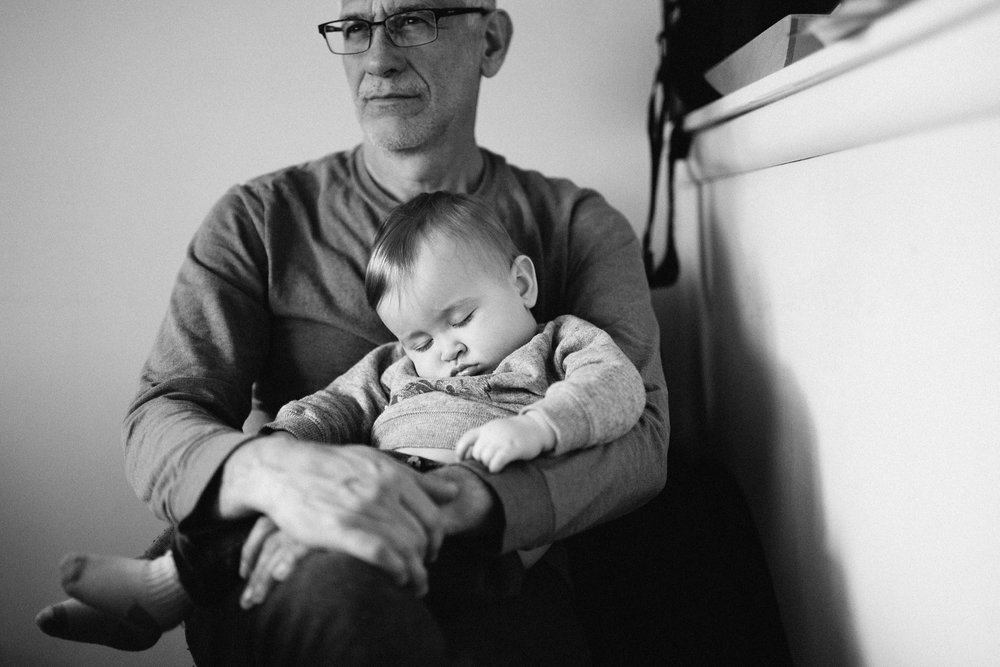 One of my favorite photos of this month, and possibly of all times, is this photo of Liam asleep in my dad's lap. I love that we get to be close to my parents and enjoy these little moments with them. These are times I know the kids will cherish when they are older, because I too cherish the moments I had with my grandparents.