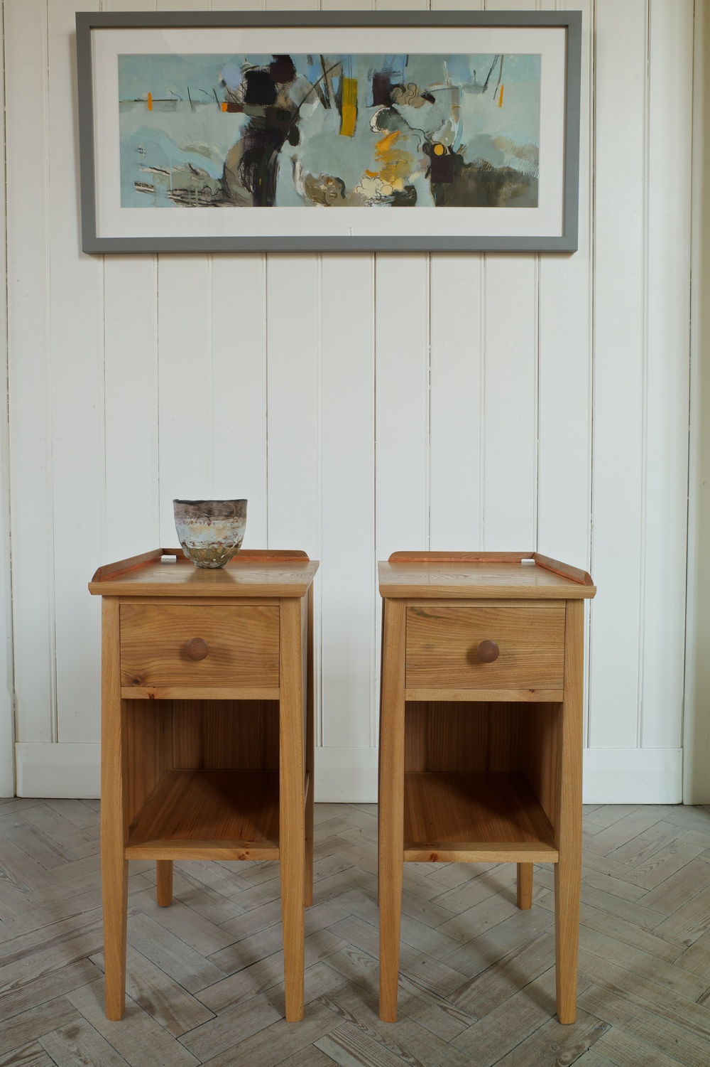 Side tables a matching pair