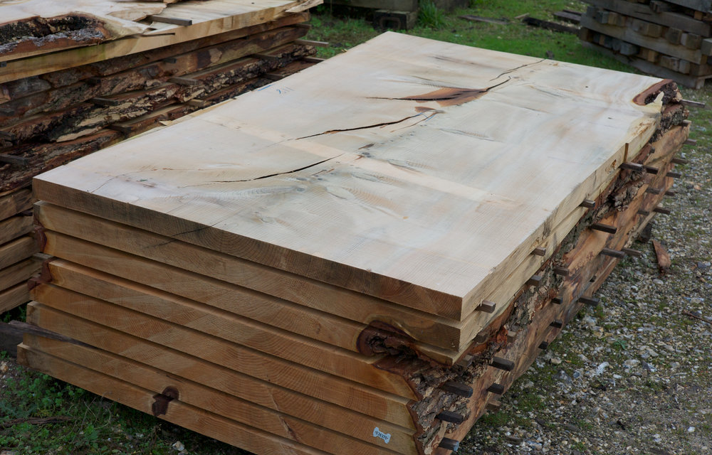 british wood at timber yard