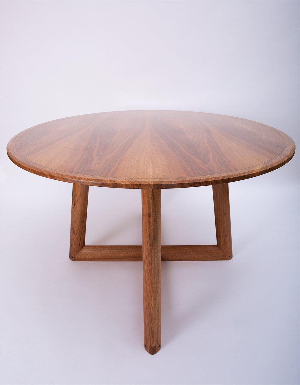 Petrel furniture bespoke english walnut dining table