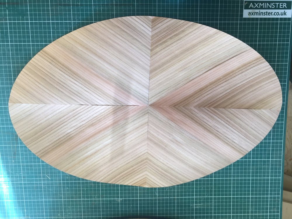 Elm cutout for the top